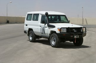 Armoured Toyota 78 LandCruiser