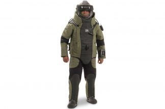 EOD 10 Bomb Suit and Helmet Ensemble