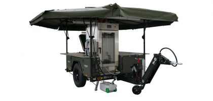 Deployable Infrastructure Trailer