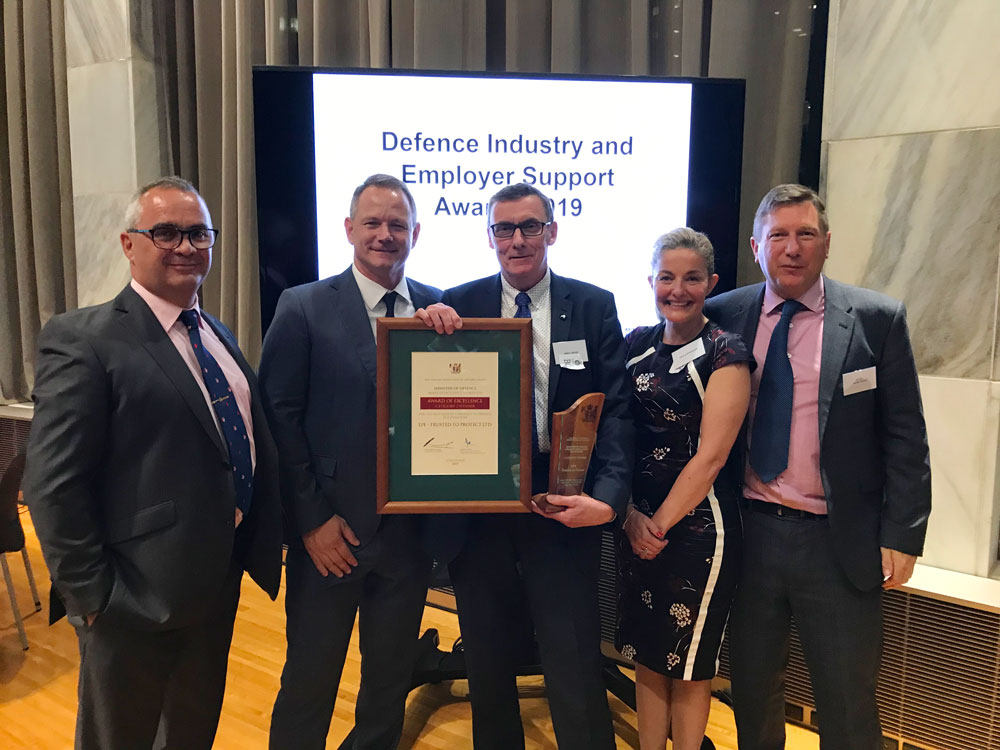 EPE Wins New Zealand Minister of Defence Award for Excellence
