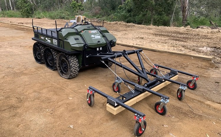 Moskito Project - Hunter WOLF with GPR technology